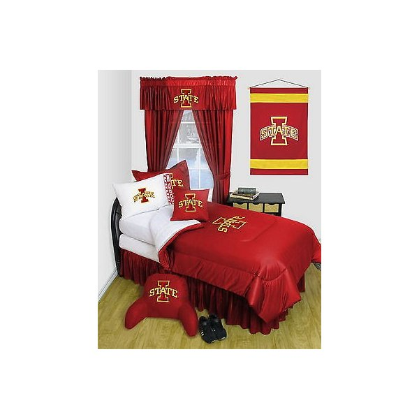 掛け布団 セット Iowa State Cyclones Comforter & Pillowcase Twin Full Queen Size LR