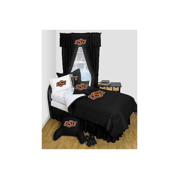 掛け布団 セット Oklahoma State Cowboys Comforter & Pillowcase Twin Full Queen Size LR