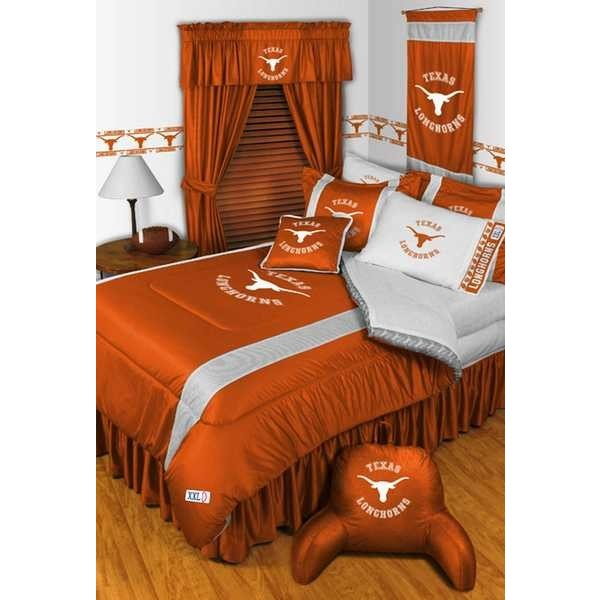 掛け布団 セット Texas Longhorns Comforter and Pillowcase Twin Full Queen King Size