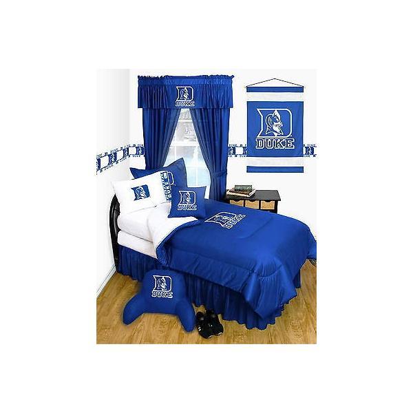 掛け布団 セット Duke University Comforter & Sham Twin Full Queen Size LR