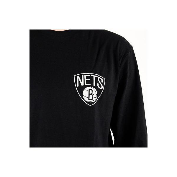 NBA Brooklyn Nets New Era Core Dual Logo T Shirt Mens