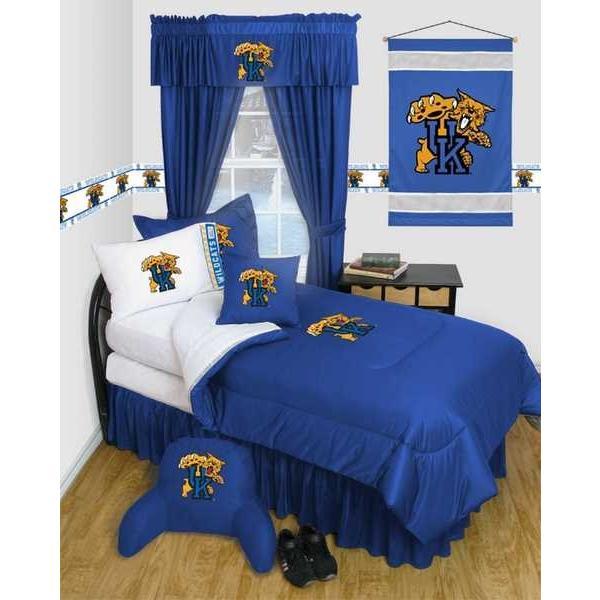 掛け布団 セット Kentucky Wildcats Comforter Sham & Pillowcase Twin Full Queen LR