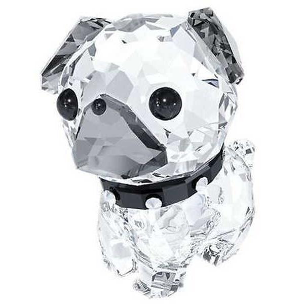 アルミニウム アルミ ボックス ホルダー スワロフスキー スワロフスキ Puppy Roxy The Pug 5063333
