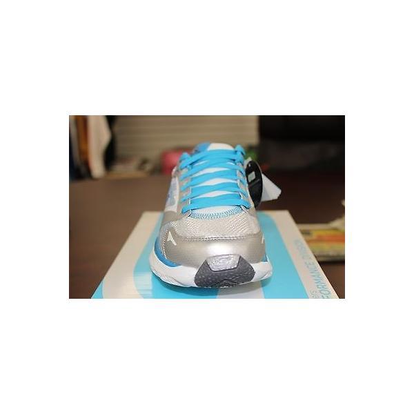 アスレチック スケッチャーズ Skechers Go Run Ride 3 シルバー ブルー 13910 Resalyte Cushioning Performance