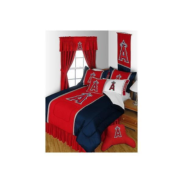 掛け布団 セット Los Angeles Angels Comforter Sham and Sheet Set Twin Full Queen King Size