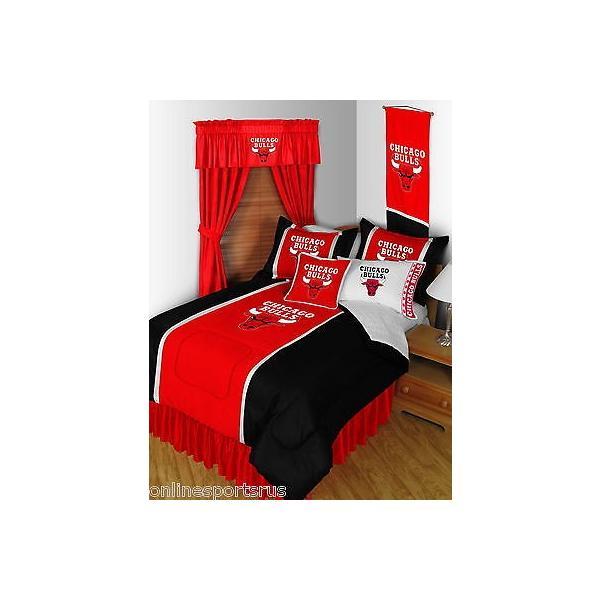 掛け布団 セット Chicago Bulls Comforter and Pillowcase Twin Full Queen King Size
