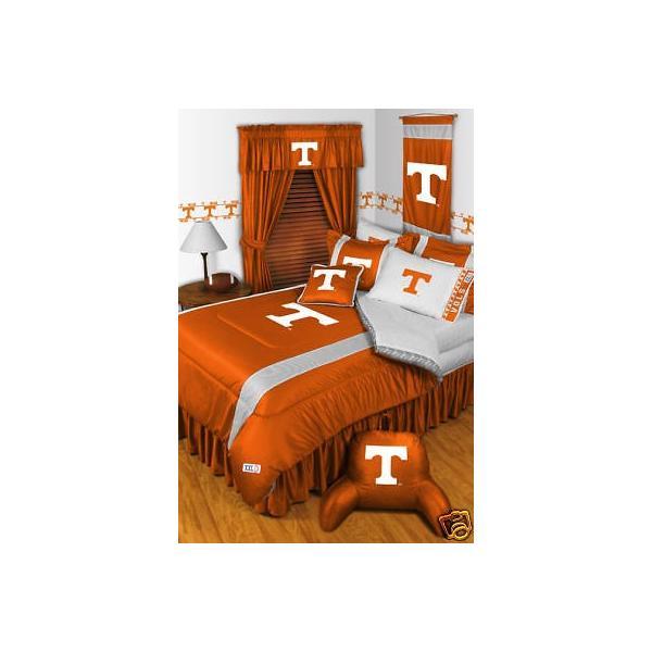 掛け布団 セット Tennessee Volunteers Comforter Sham & Sheet Set Twin Full Queen King Size