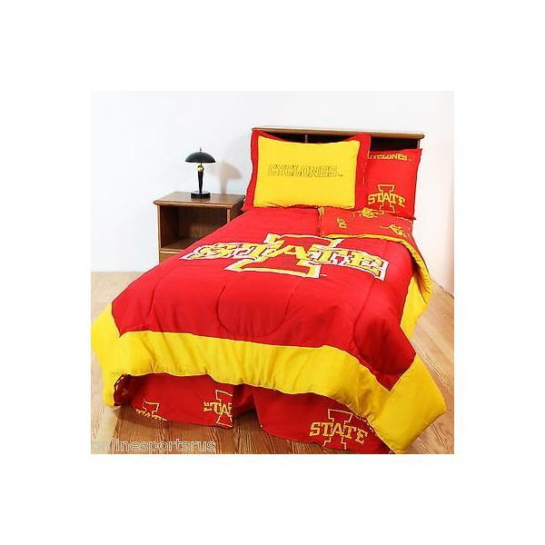 掛け布団 セット Iowa State Cyclones Comforter and Sham Twin or Full Size Reversible CC
