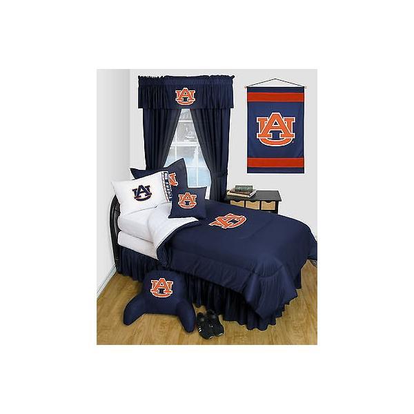 掛け布団 セット Auburn Tigers Comforter & Pillowcase Twin Full Queen Size LR