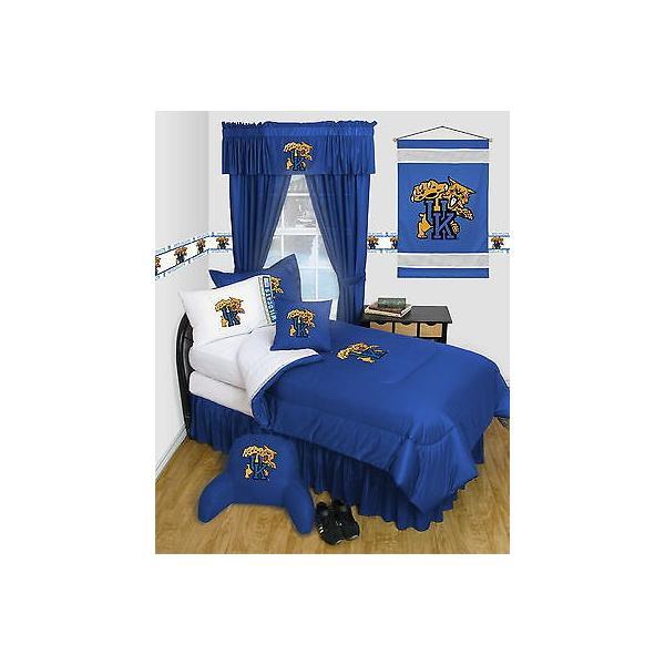 掛け布団 セット Kentucky Wildcats Comforter & Pillowcase Twin Full Queen Size LR