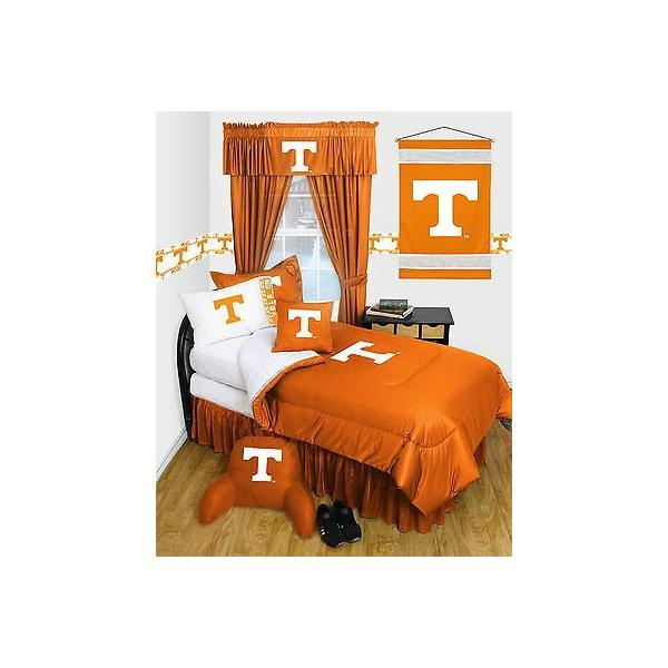 掛け布団 セット Tennessee Volunteers Comforter & Pillowcase Twin Full Queen Size LR