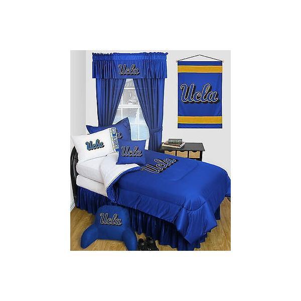 掛け布団 セット UCLA Bruins Comforter & Pillowcase Twin Full Queen Size LR