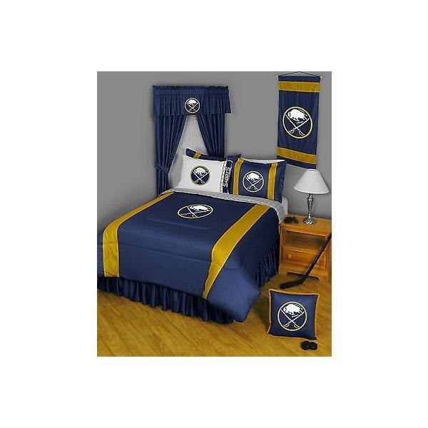 掛け布団 セット Buffalo Sabres Comforter & Pillowcase Twin Full Queen King Size