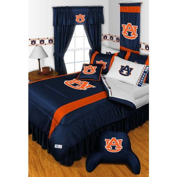 掛け布団 セット Auburn Tigers Comforter & Pillowcase Set Twin Full Queen King Size