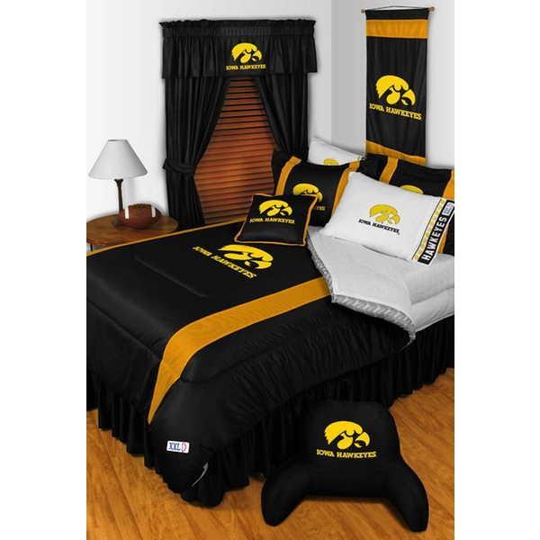 掛け布団 セット Iowa Hawkeyes Comforter & Pillowcase Twin Full Queen King Size