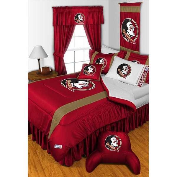 掛け布団 セット Florida Seminoles Comforter & Pillowcase Twin Full Queen King Size