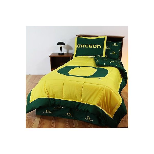 掛け布団 セット Oregon Ducks Comforter Bedskirt Sham Twin Full Queen King Size CC