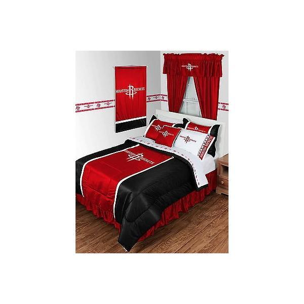 掛け布団 セット Houston Rockets Comforter and Pillowcase Twin Full Queen King Size