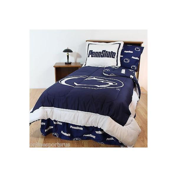 掛け布団 セット Penn State Comforter Sham & Sheet Set Twin Queen or King Size CC