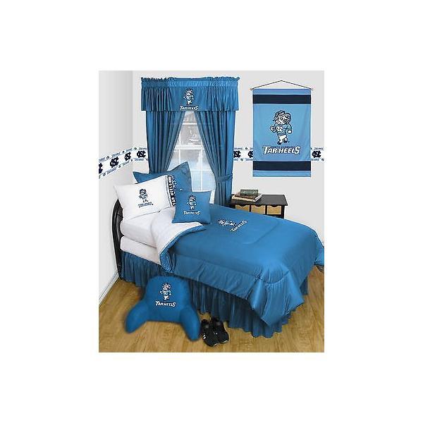掛け布団 セット North Carolina Tar Heels Comforter & Pillowcase Twin Full Queen Size LR