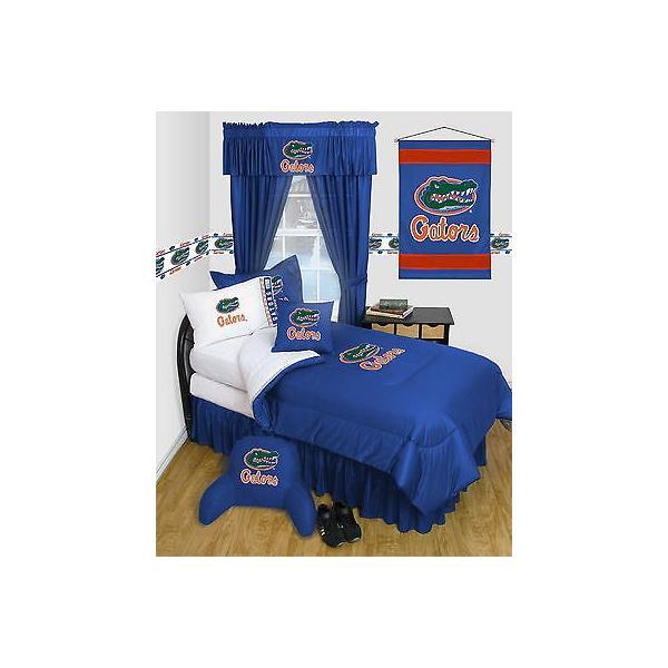 掛け布団 セット Florida Gators Comforter & Pillowcase Twin Full Queen Size LR