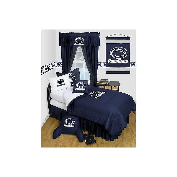 掛け布団 セット Penn State Comforter & Pillowcase Twin Full Queen Size LR