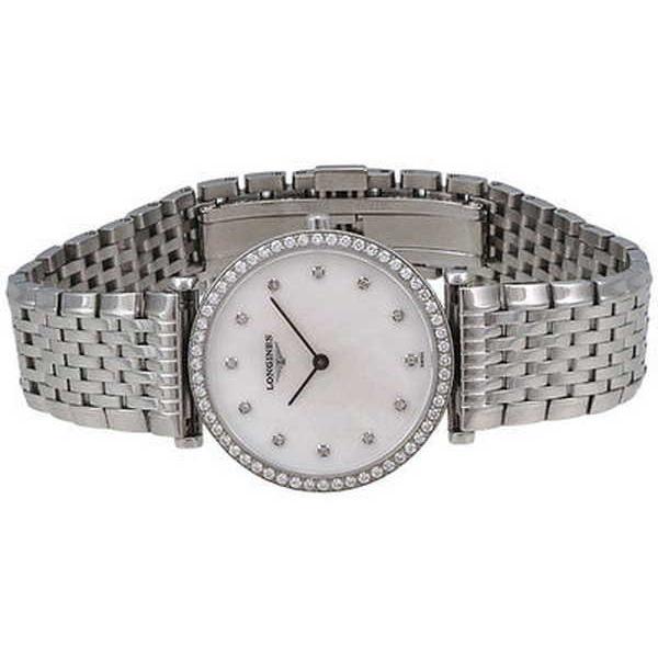 腕時計 ロンジン Longines レディース L45130876 'La Grandes Classiques' ダイヤモンド ステンレス スチール 腕時計