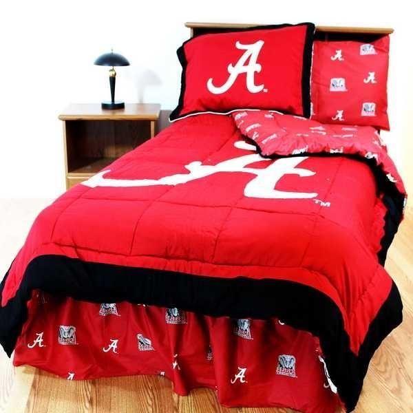 掛け布団 セット Alabama Crimson Tide Full Size Comforter & Sham Set CC