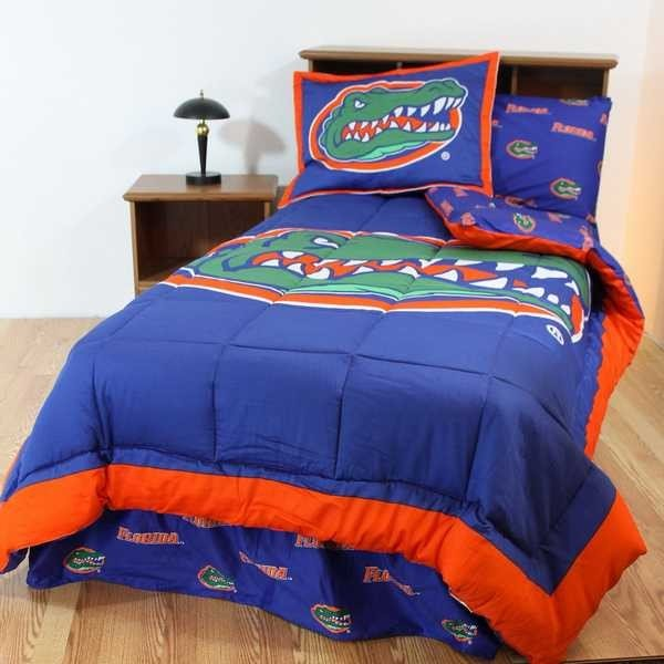 掛け布団 セット Florida Gators Full Size Comforter & Sham Set CC