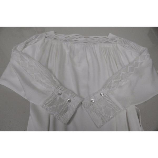 ワンピース マイエット Maiyet  Boat Neck Belted Mini Dress Ivory Lace  Off white 36 38 42|pandastore|04