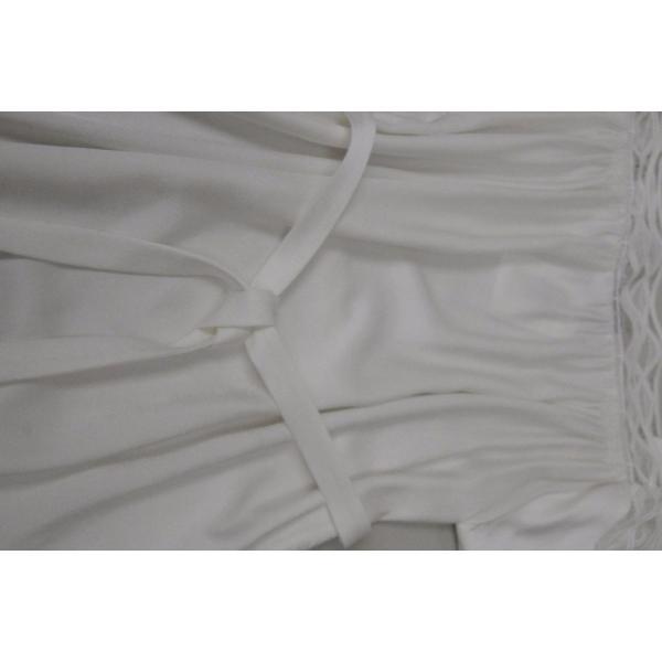 ワンピース マイエット Maiyet  Boat Neck Belted Mini Dress Ivory Lace  Off white 36 38 42|pandastore|06