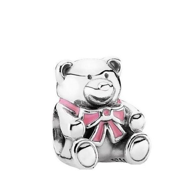 """STERLING SILVER /""""IT/'S A GIRL/"""" CHARM OR PENDANT"""