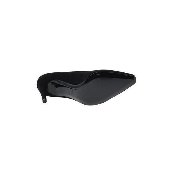 海外セレクション ヒール 靴 Delman 6623 レディース Delux ブラック スエード ドレス パンプスs ハイヒール 8.5 ミディアム (B,M) BHFO