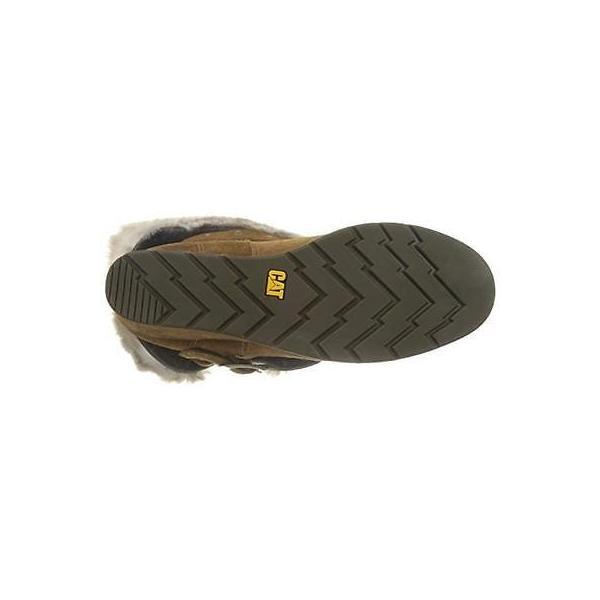 キャタピラー ブーツ シューズ 靴 キャットerpillar 3863 レディース Boisterous ブラウン アンクルウインター ブーツ 10 ミディアム (B,M) BHFO