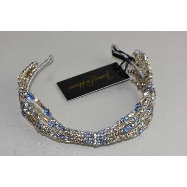 ヘア ヘッドジュエリー ジェニーパッカム  Jenny Packham Azore Hairdresser Headband IV Crystals Blue Bridal Wedding