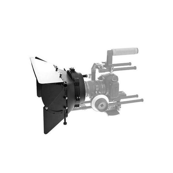 カメラ 写真 フィルム写真 ムービーカメラアクセサリー New Matte box will work with the standard 15mm rod follow focus rig systems