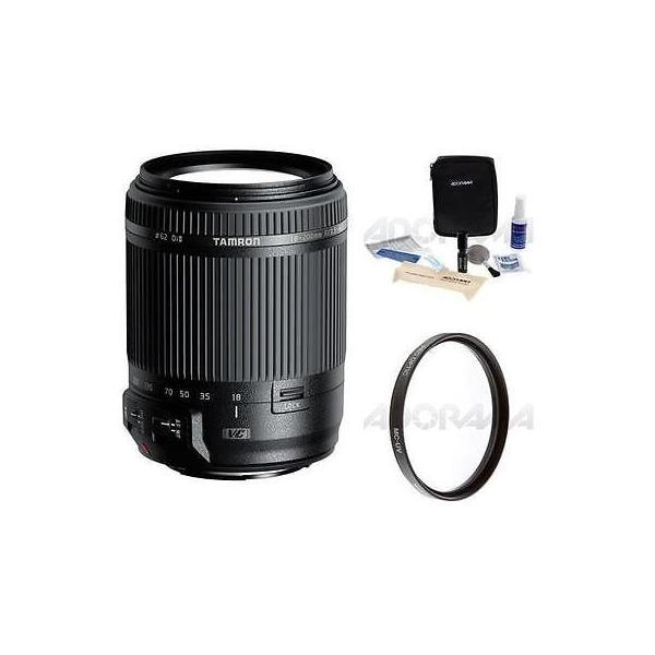 カメラ 写真 レンズ フィルター レンズTamron 18-200mm f/3.5-6.3 DI-II VC AF Zoom Lens f/Canon EOS APS-C DSLRs W/Acc