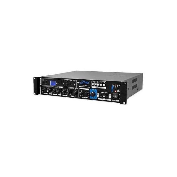 楽器 ギア プロオーディオ機器 アンプPyle PT730U 375W PA Amplifier with FM Tuner