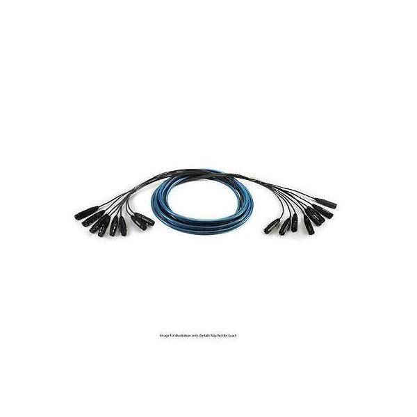 楽器 ギア プロオーディオ機器 ケーブル スネークインターコネクトWhirlwind 50' Medusa Multitrack 6-Ch XLRF to XLRM Fanout Snake Cable #MT6FM50