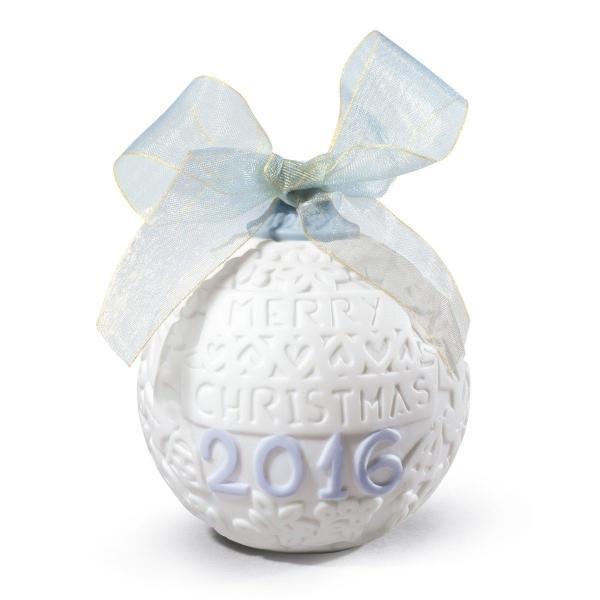 海外セレクション オーナメント クリスマス プレゼント ギフト 記念品 LLADRO BALL 2016.