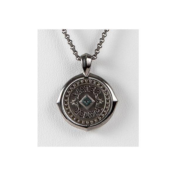 アクセサリー キングベイビースタジオ Stephen Webster Metallic Sterling Silver Scorpio Pendant w/chain Necklace Zodiac
