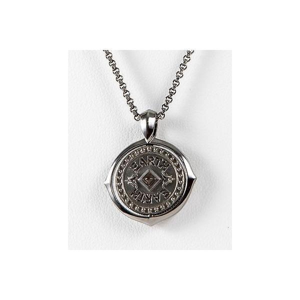 アクセサリー キングベイビースタジオ Stephen Webster Metallic Sterling Silver Virgo Pendant w/chain Necklace Zodiac