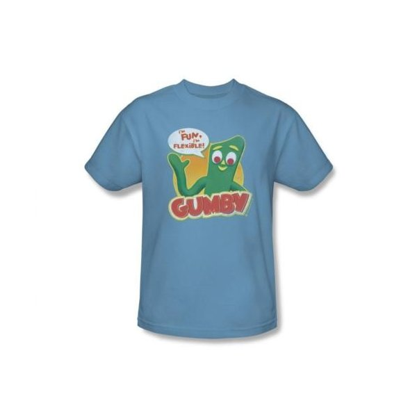 Gumby FUN /& FLEXIBLE Licensed Adult T-Shirt All Sizes