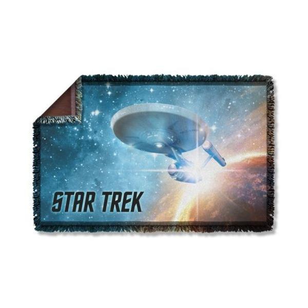 """スタートレック アフガン スロー ブランケット ソファー Star Trek クラシック The Final Frontier ライセンス ブランケット 36"""" X 60"""""""