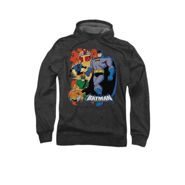 DC Comics Mens Deal with It Pullover Hoodie