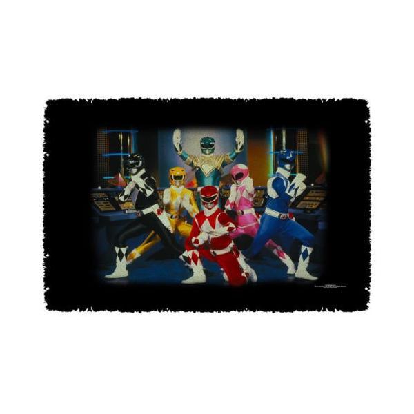"""パワーレンジャー アフガン スロー ブランケット ソファー Power Rangers Stance ライセンス ブランケット 36"""" X 60"""""""