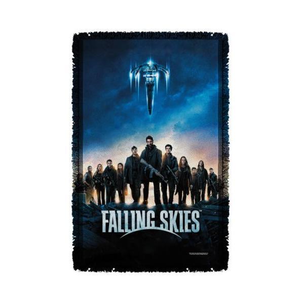 """フォーリングスカイズ アフガン スロー ブランケット ソファー Falling Skies Poster TNT ライセンス ブランケット 36"""" X 60"""""""