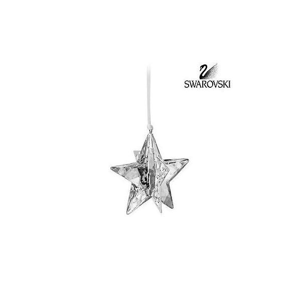 海外セレクション オーナメント スワロフスキ MOONライト クリスタル クリスマス オーナメント STAR #1140007