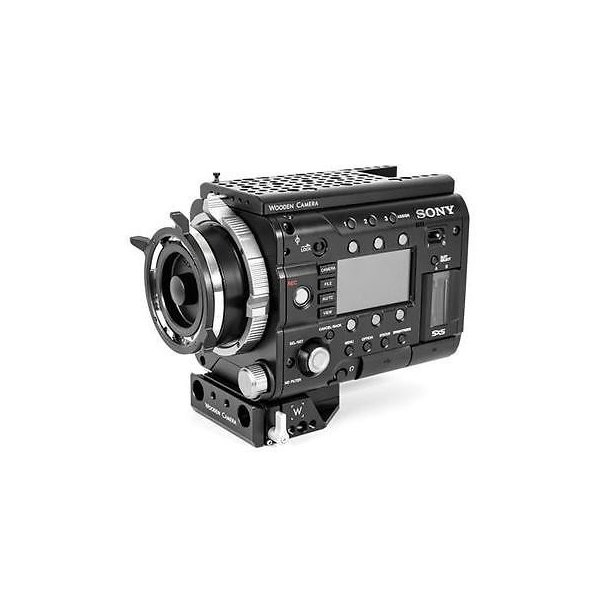 カメラ 写真 三脚 サポート Wooden Camera Fixed Base for Sony F55  F5 Cameras #163300