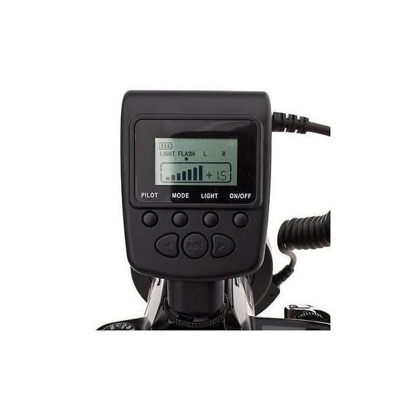 カメラ 写真 ストロボ フラッシュ アクセサリー Flashpoint VL 48 Led Macro Ring Light 49 67mm Lenses #FP550D